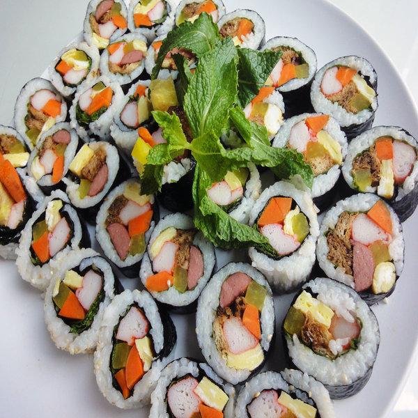 resep membuat sushi sederhana